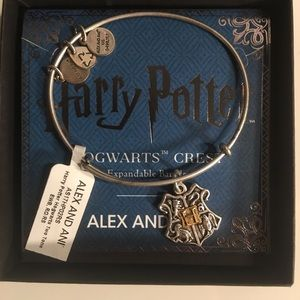 NWT Alex and Ani Harry Potter Hogwarts Symbol